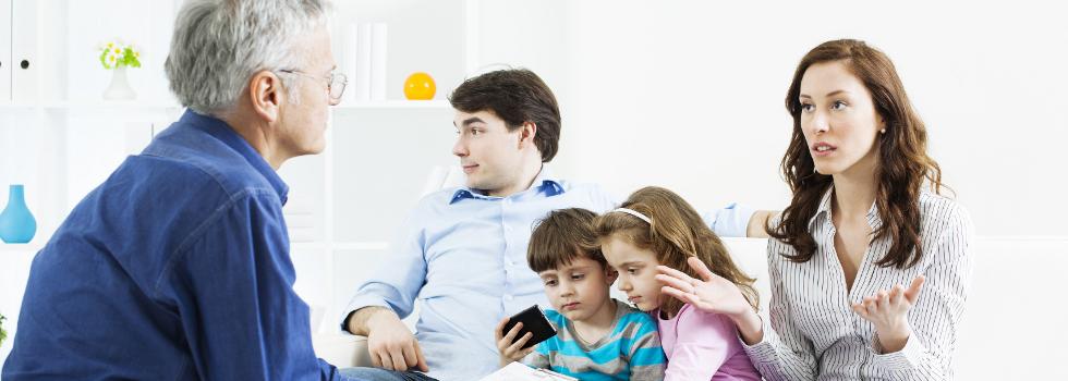 psiholog familie