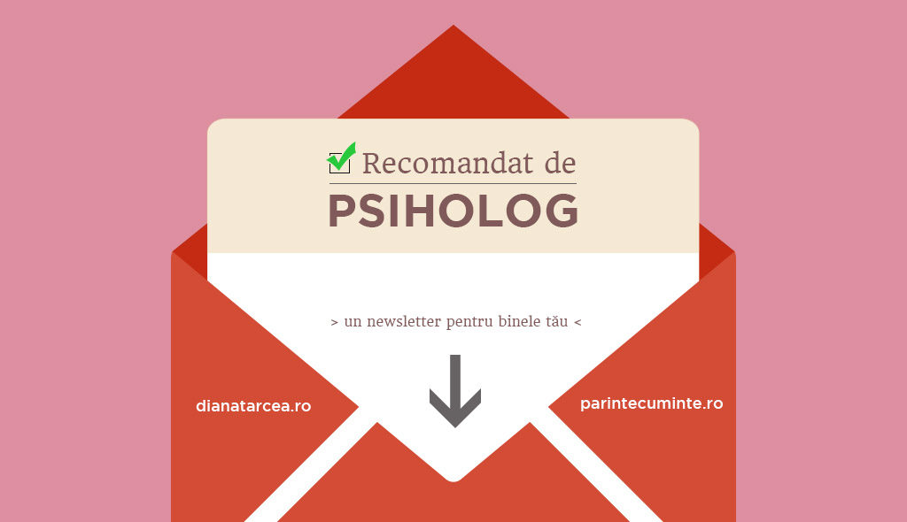 Abonare la newsletter-ul Recomandat de psiholog
